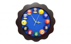 Часы FLOREUS, 39x39 см, синий