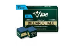 Мел Startbilliards 4 звезды синий (12 шт. качества 5А)