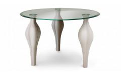 Стол со стеклянной столешницей Фиоре