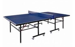 Теннисный стол LIJU, 12 мм, колеса 50 мм, синий DW9012