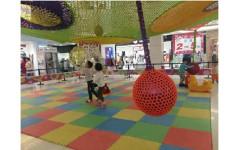 Подвесная игровая площадка 6 х 6 м (1 этаж)