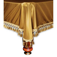 Покрывало Венеция 12фт шёлк тёмное золото