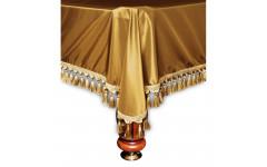Покрывало Венеция 7фт шёлк темное золото