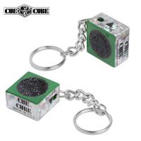 Брелок-инструмент для обработки наклейки Cue Cube зеленый