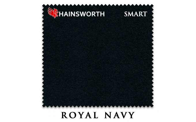 Сукно Hainsworth Smart Snooker 195см Royal Navy
