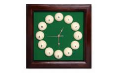 Часы Fortuna Бильярд SR4666 коричневые 44x44см