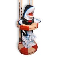 Киевница напольная Shark для 4 киев