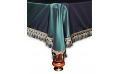 Покрывало Венеция 10фт шёлк зеленое