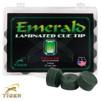 Наклейка для кия Tiger Emerald ø14мм Medium/Hard 1шт.