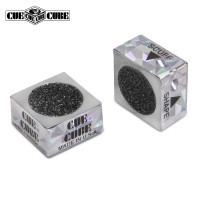Инструмент для обработки наклейки Cue Cube серебро