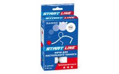 Мячи теннисные Start Line Training 3* 6шт белые