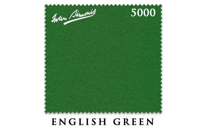 Сукно Iwan Simonis 5000 snooker 193см English Green