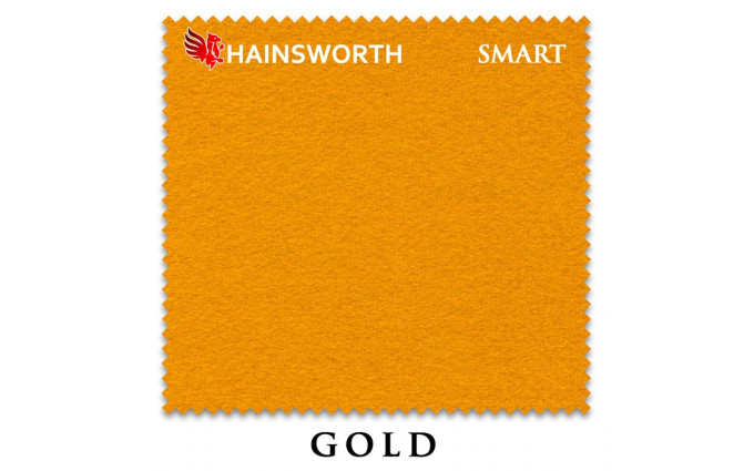 Сукно Hainsworth Smart Snooker 195см Gold
